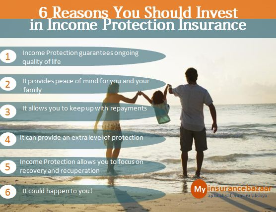 6 Reasons You Should #Invest in Income Protection Insurance, Compare & Buy Best #insurance Plans for you here