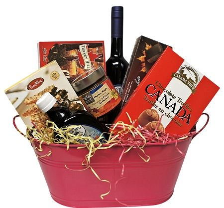 25 ideias exclusivas de gift baskets canada no pinterest idias spring blooms foodie easter gift basket canada canadian easter gift basket negle Gallery