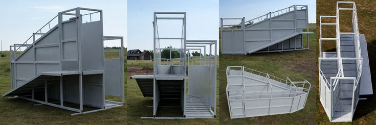 Dual Loading Chute For Cattle Chutes Pinterest Cattle