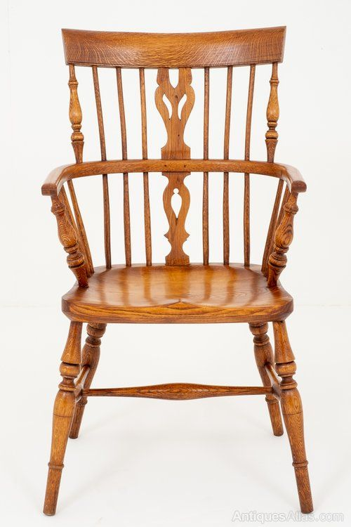 Good Quality Elm And Oak Stick Back Chair - Antiques Atlas - Good Quality Elm And Oak Stick Back Chair In 2018 Antique Country