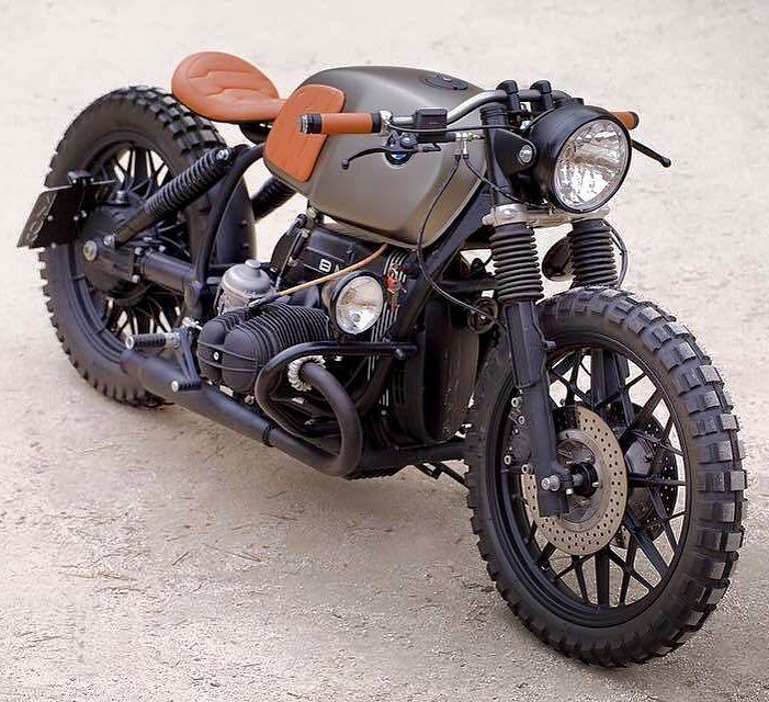 BMW R100 scrambler by Cafe Racer Dreams