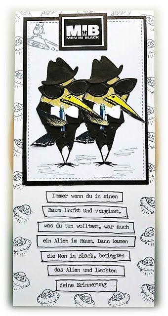 ' Stempelgaudi ': Bird Crazy - #44 - ... Vergesslich? ... Grund ist gefunden! ...