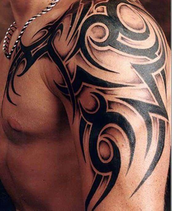 Resultado De Imagen Para Tribal En El Hombro Tattoo Pinterest