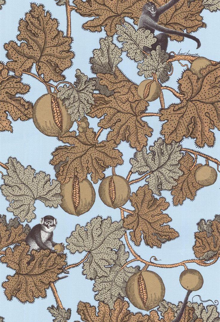 Buy Cole & Son 77/12046 Frutto Proibito Wallpaper | Fornasetti | Fashion Interiors