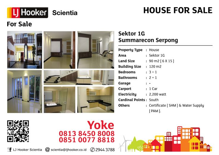 HOUSE FOR SALE: Sektor 1 G @ Gading Serpong