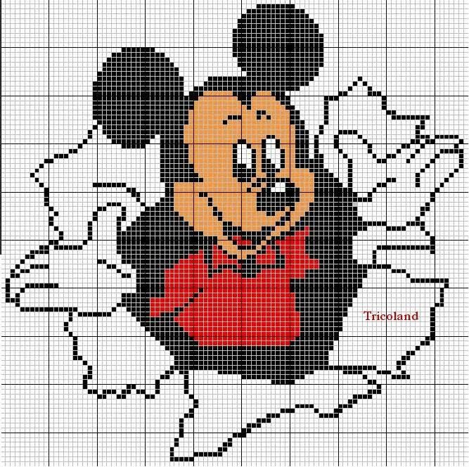 Points de croix *♥* Mickey