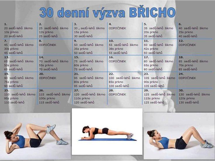 30ti denní výzva - břicho