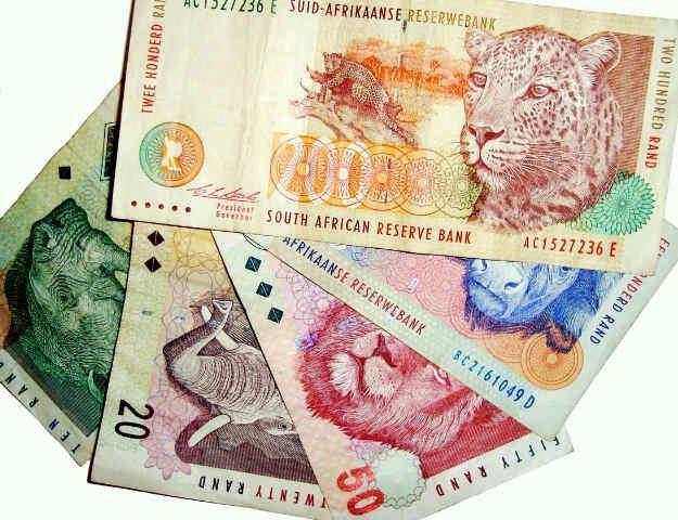 South African Money - Rands
