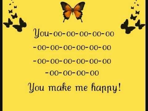 Lindsey Ray - You make me happy - Feeling some good vibes...la-la-la
