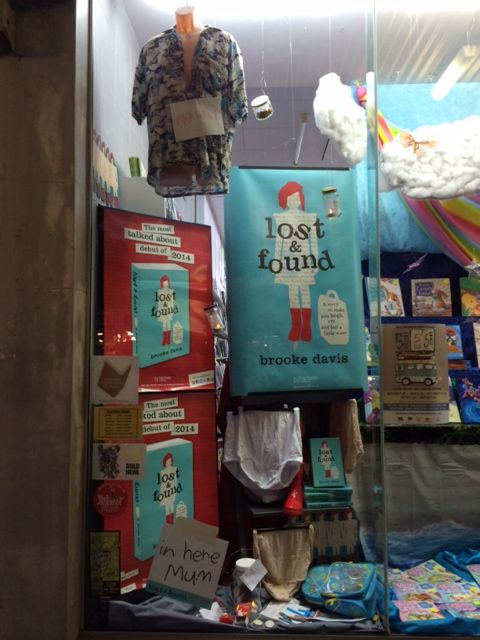 We particularly like the inclusion of Manny in The Book Warehouse, Lismore's #LostandFound display!