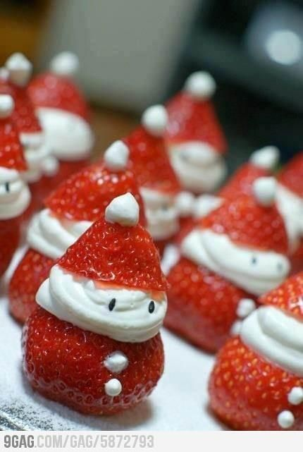 Have a strawberry christmas