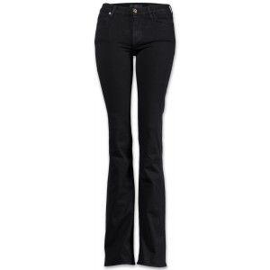 7 for all mankind Skinny Bootcut Damen Jeans Schwarz
