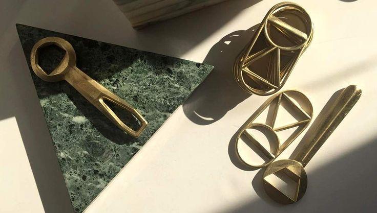 Minimalistische Objekte für die Küche