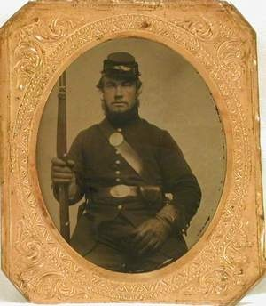 vermont's sleeping sentinel, William Scott,  remembered 150 years after his death  (photo from Vermont Historical Society)