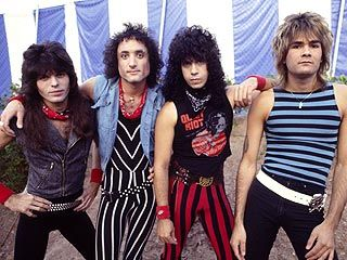"Quiet Riot * '80s heavy metal band who gained fame from a remake of Slade's ""Cum On Feel the Noize."""