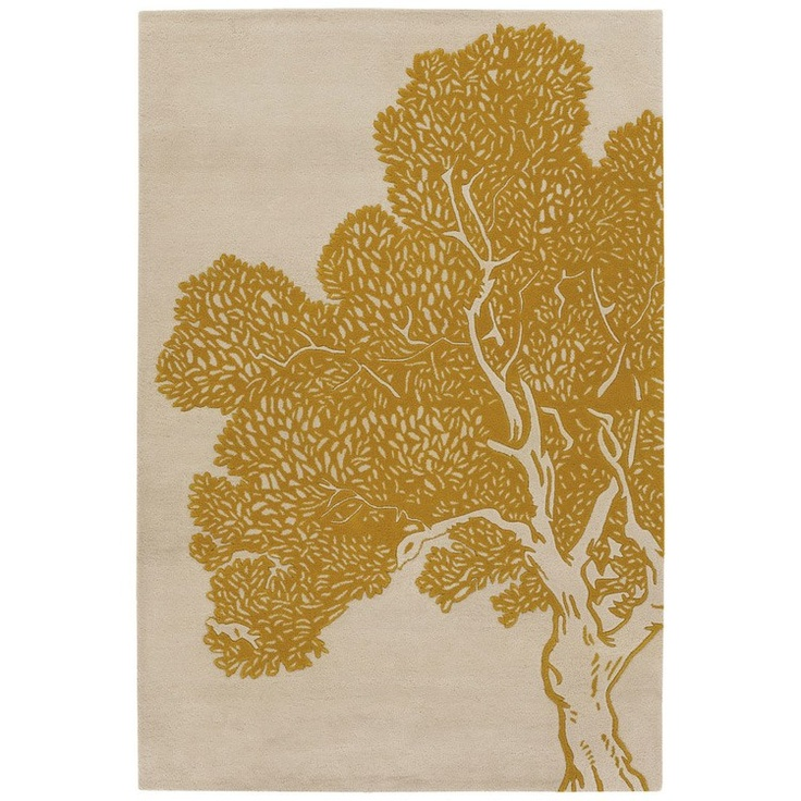Thomas Paul Tree Yellow-Cream Wool Rug: Yellow Cream Wool, Living Rooms, Trees Yellow Cream, Area Rugs, Paul Trees, Thomas Paul, Wool Rugs, Chandra Thomaspaul, Trees Rugs