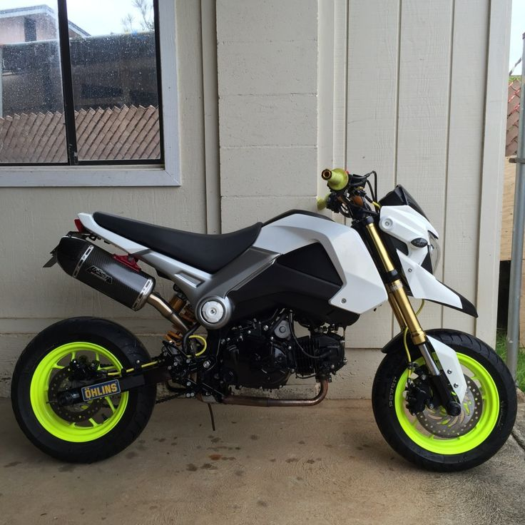 Vote Now! - February 2016 Honda Grom of the Month Contest
