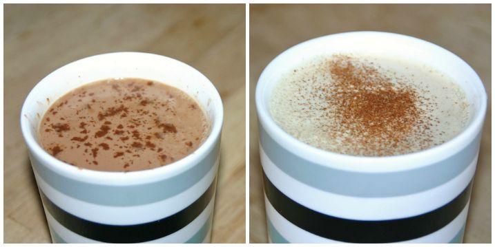 Æggemælk i to (kaffefri) versioner