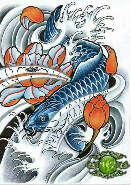 58 besten koi fish tattoo bilder auf pinterest angeln japanische kunst und oriental. Black Bedroom Furniture Sets. Home Design Ideas