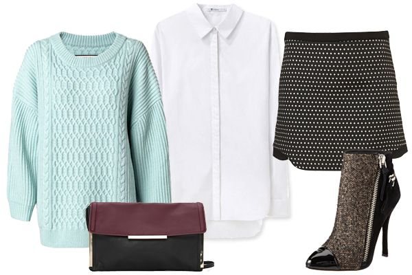 5 Oversized Sweaters, 5 Perfect (Cozy) Outfits