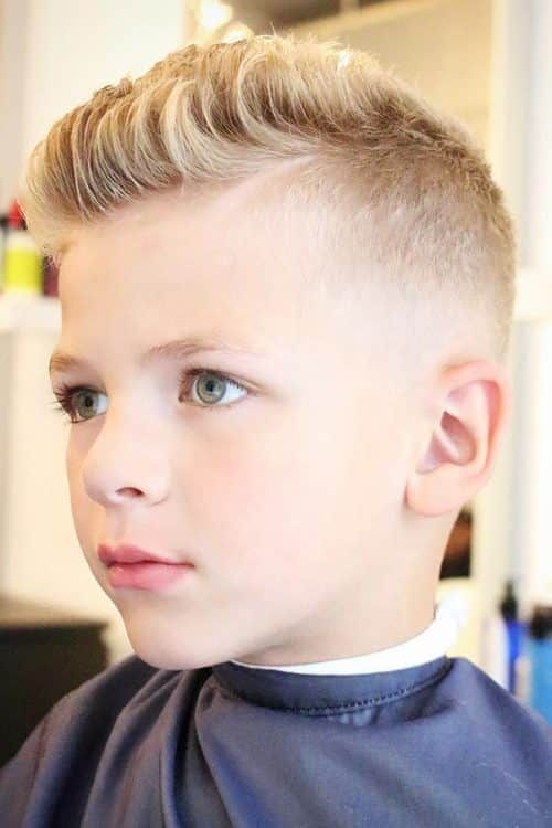 60 Trendiest Boys Haircuts And Hairstyles Menshaircuts Com Boys Fade Haircut Kids Hairstyles Boys Trendy Boys Haircuts