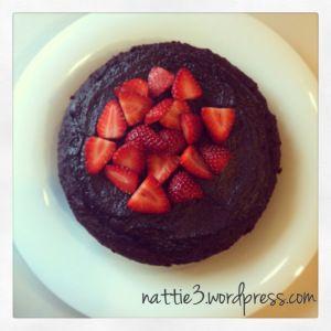 A One Bowl Chocolate Cake!