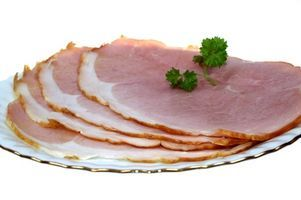 Roasting a ham is often more a case of simply heating it for the table, as opposed to cooking.
