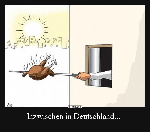 Inzwischen in Deutschland…