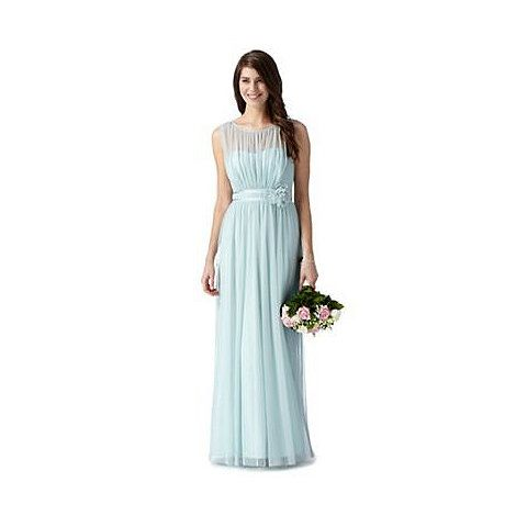Debut Light green mesh corsage maxi dress- at Debenhams Mobile