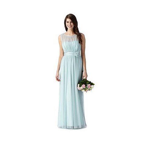 Debut Light green mesh corsage maxi dress- at Debenhams Mobile