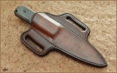 how to make a leather crossdraw knife sheath - Pesquisa Google
