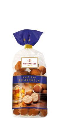 Marzipan-Rumkugel-Beutel