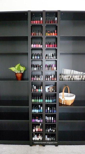 I Relish Nail Polish!: My Nail Polish Storage & Display