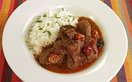 Agnello al Curry del Rajasthan