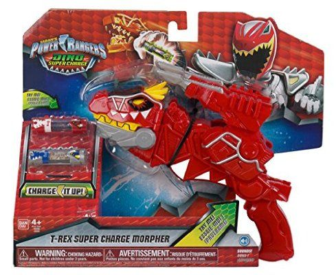 Power Rangers Dino Supercharge Deluxe T-Rex Morpher Toy