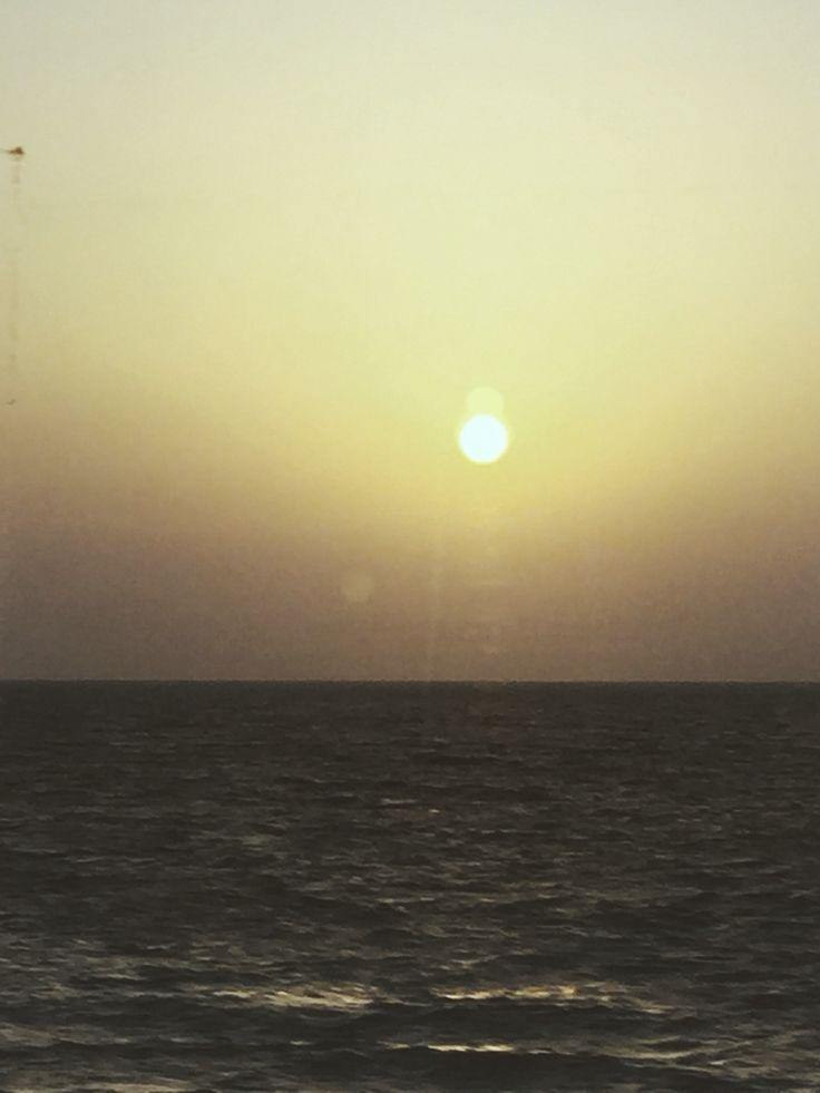 #mediterranean #sea #sunset