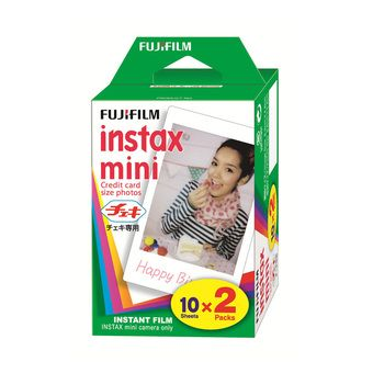 Buy 20 Sheets Fujifilm Instax Mini Twin Film (1 Twin Pack) online at Lazada. Discount prices and promotional sale on all. Free Shipping.