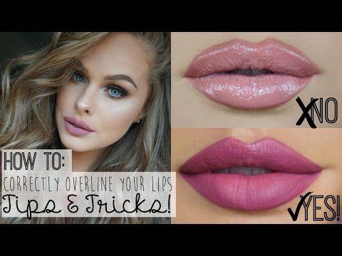 Overline Lips Tutorial | Kylie Jenner Lips | Jordan Hanz - YouTube