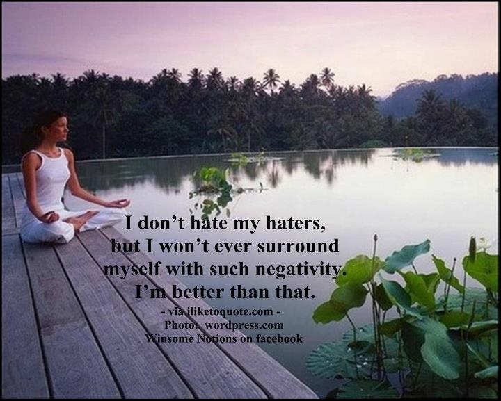 """I won't ever surround myself with such haters. I'm better than that.""Positive Quotes, So True, Happy Heart, Handles Uglies, Wise Words, I M Better"