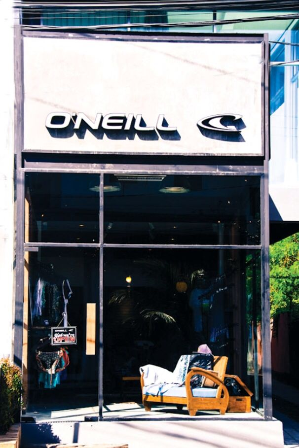 ***Closed*** Just past Seminyak Sqr on the way to KDT, the O'Neill outpost. Certainly a simpler more edgy option in the surf shop category. Just a 10 min. walk from AyatanaBali.