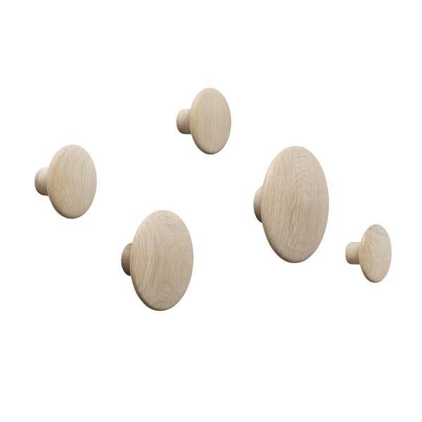 The Dots Coat Hooks - Set of 5
