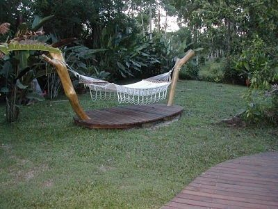 Hamaca jardin. Si quieres ver más, visita OneDreamArt.com