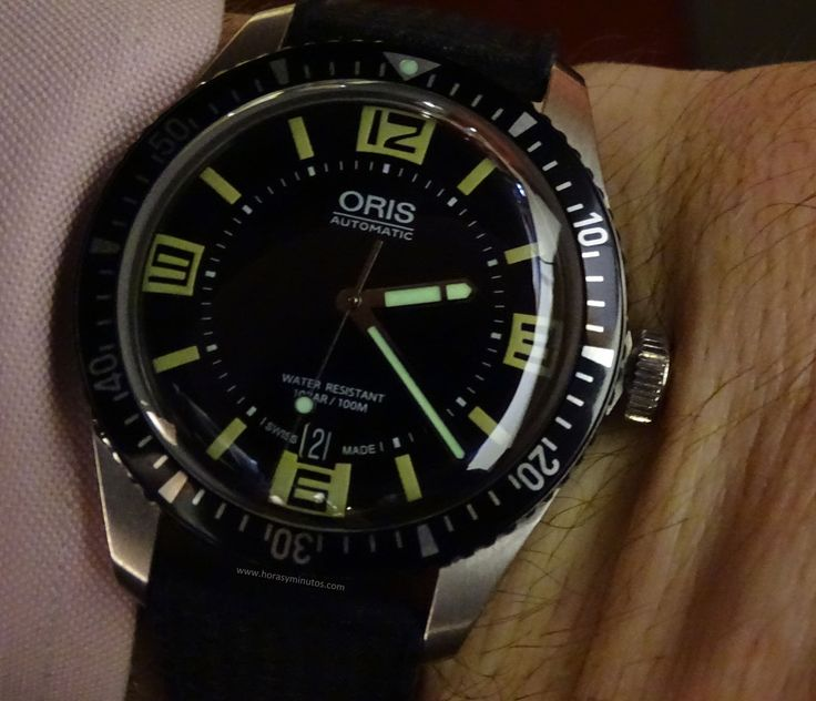 #Oris Divers Sixty-Five SuperLuminova