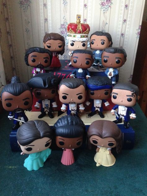 Hamilton: An American Musical Funko POP! Vinyl Customized - Various Characters by HamilPOP on Etsy https://www.etsy.com/listing/488151408/hamilton-an-american-musical-funko-pop