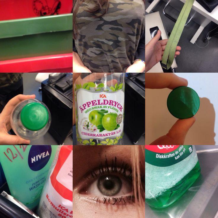 Färglära grön