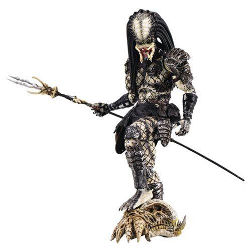 Predator 2 Shaman Predator 1:18 Scale Action Figure - PX - Hiya Toys - Predator - Action Figures at Entertainment Earth