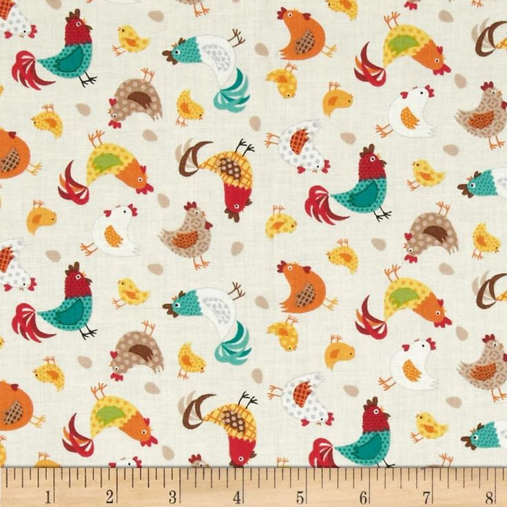 43 Best Chicken Kitchen Fabrics Images On Pinterest | Chicken