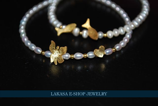 Lakasa e-shop Jewelry Bracelets Silver 925 Gold-plated with Pearls Price:  27.60 euros e-mail: design.lakasa@gmail.com http://designlakasa.wix.com/gr Βραχιόλια Ασημένια 925 επιχρυσωμένα με μαργαριτάρια bestprice #christmasgifts #offers #discount #price #offersjewelry #finegreekart #collection2016 #cute #forhergifts #χριστουγεννα #δωρα #δωροκοσμημα #προσφορες #ασημενιοκοσμημα #βραχιολιασημι