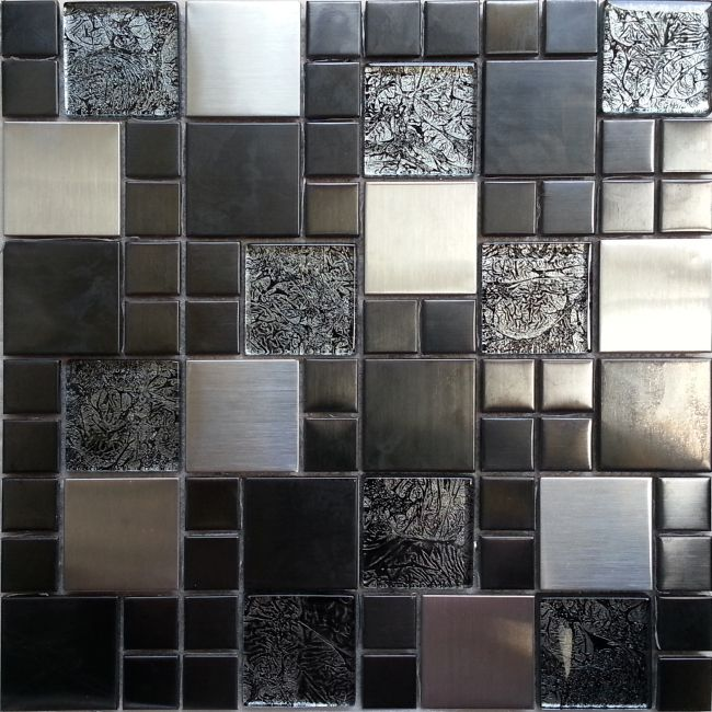 This is a step by step process for installing our stainless steel and glass mosaic wall tiles.
