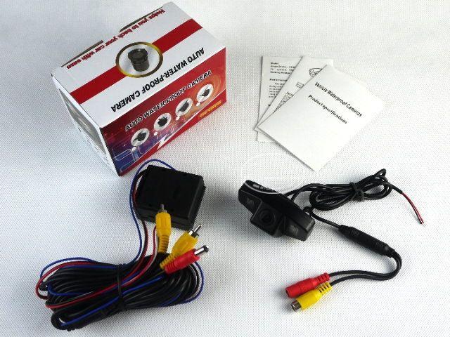 Камера ДЛЯ Honda Accord 2008 ~ 2012/Автомобильная Стоянка Камеры/Камера заднего вида/CCD Ночного Видения + Реле выпрямители